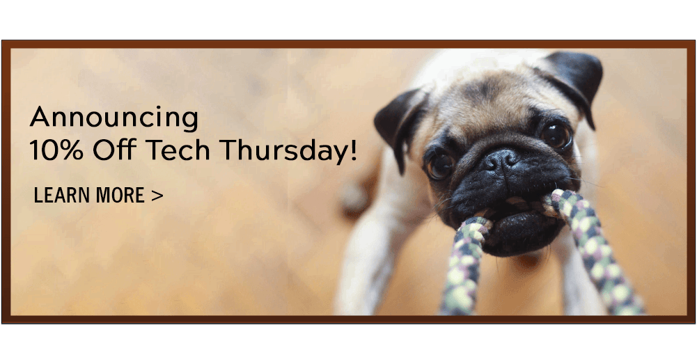 Announcing 10% Off Tech Thursdays. Learn More!